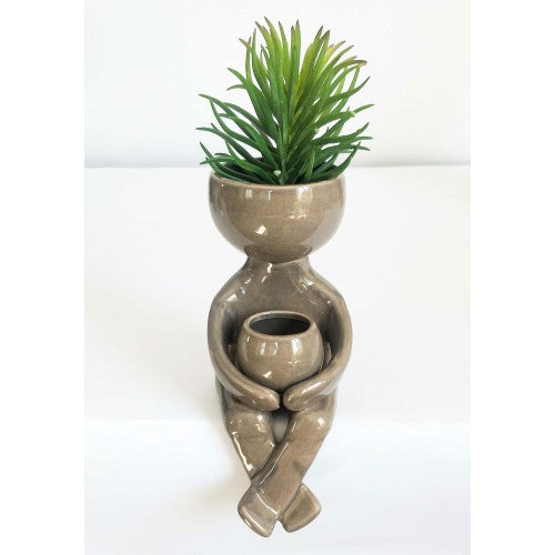 *NEW* Person Holding Pot Planters