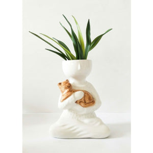 *NEW* Person Holding Pet Planter