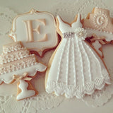 BRIDE & GROOM  WEDDING OUTFIT COOKIE CUTTER