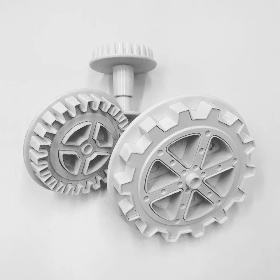 LARGE COG WHEELS & GEARS CUTTER 3PCS SET