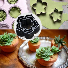 Load image into Gallery viewer, METALLIC SUCCULENT CUTTER 3PCS (MINI)