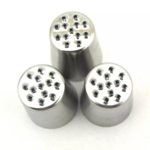 3 PC STAINLESS STEEL GRASS NOZZLE SET