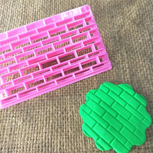 MINI BRICK WALL PLASTIC EMBOSSER