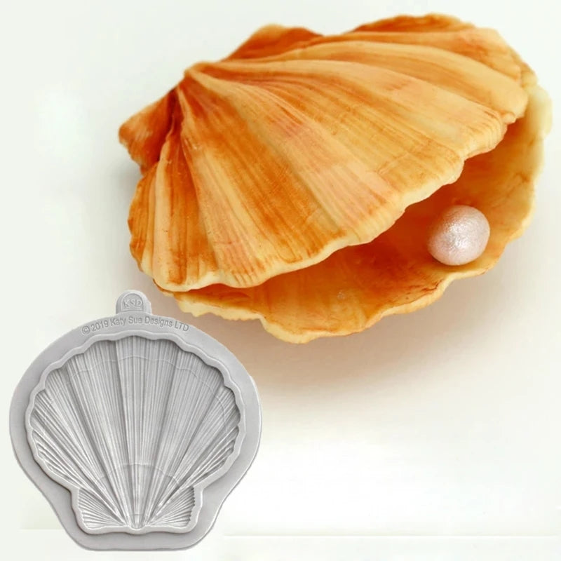 LARGE PEARL SHELL MOULD (GREY)