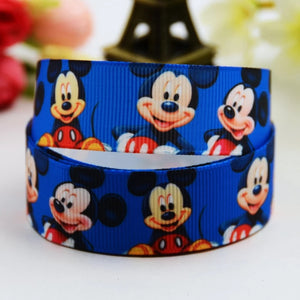 MICKEY MOUSE RIBBON BLUE