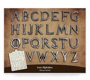 GAME OF THRONES FONT ALPHABET MOULD