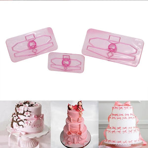 ASSORTED SIZES BOWS CUTTER SET