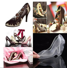 Load image into Gallery viewer, 3D LADY PUMP/SHOE POLYCARBONATE CHOCOLATE MOULD 1PC
