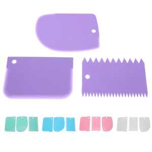MINI COMBS WITH SMOOTHER SET 3PC