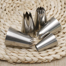 Load image into Gallery viewer, 5 PC STAINLESS STEEL EXTRA LARGE NOZZLE SET