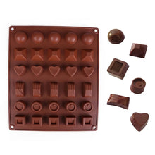 Load image into Gallery viewer, 6 DESIGNS 30 PCS CHOCOLATE MOULD