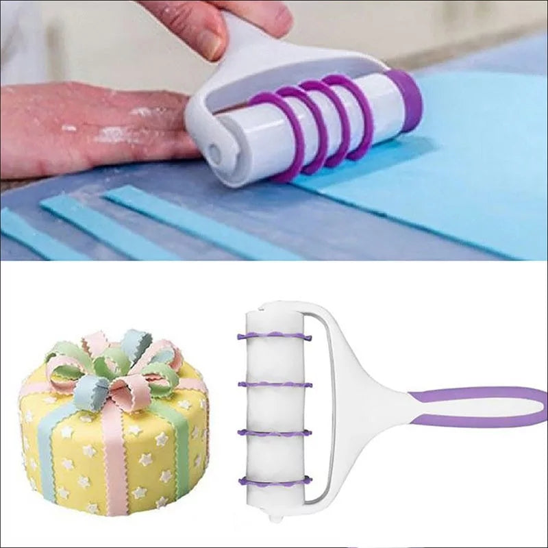 FONDANT RIBBON CUTTER SET