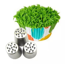 Load image into Gallery viewer, 3 PC STAINLESS STEEL GRASS NOZZLE SET