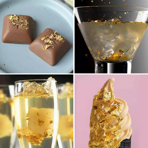 EDIBLE GOLD LEAF FLAKES