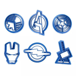 AVENGERS CUTTER SET 6PCS