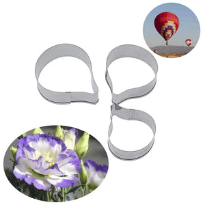 LISIANTHUS FLOWER PETAL CUTTERS SET