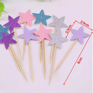 STAR TOPPERS SET 10PCS