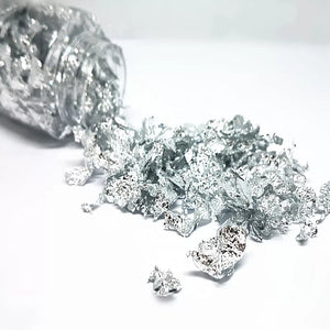 EDIBLE SILVER LEAF FLAKES