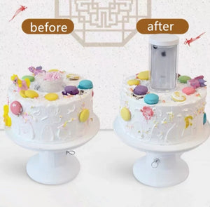 2 IN 1 SURPRISE CAKE STAND
