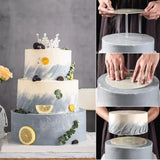 TIERED CAKE SUPPORTS WITH DOWELS SET (REUSABLE)