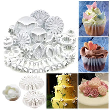 Load image into Gallery viewer, FONDANT FLOWER CUTTERS SET
