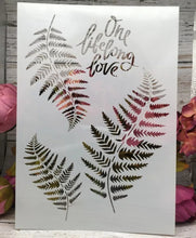 Load image into Gallery viewer, FERN LEAVES STENCIL