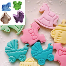 Load image into Gallery viewer, BABY SHOWER CUTTERS 4 PCS