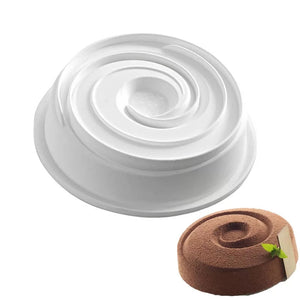 SINGLE SWIRL CHOCOLATE MOUSSE MOULD