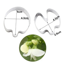 Load image into Gallery viewer, SWEET PEA PETAL CUTTER & VEINER SET