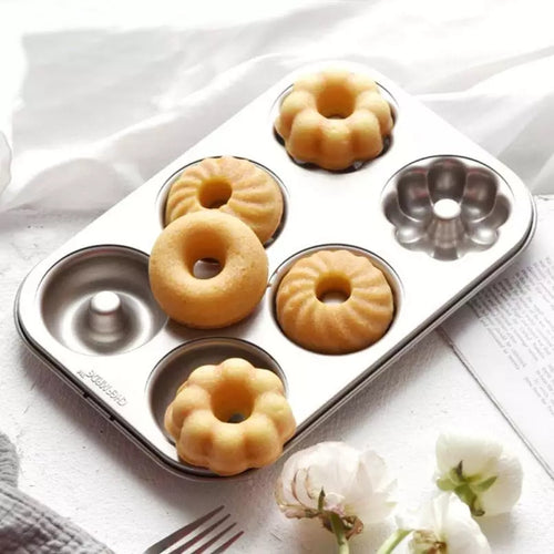 MINI BUNDT CAKES/DOUGHNUTS TIN