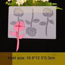 Load image into Gallery viewer, ROSE CHOCOLATE CAGE/TOPPER MOULD (CLEAR)
