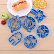 Load image into Gallery viewer, AVENGERS CUTTER SET 6PCS