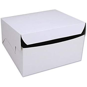 TALL WHITE CAKE BOXES (5 INCHES)
