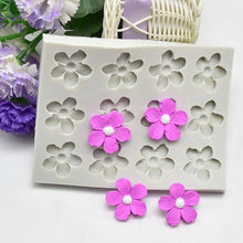 Load image into Gallery viewer, SMALL FLOWERS MOULD 12 PCS (MEDIUM)