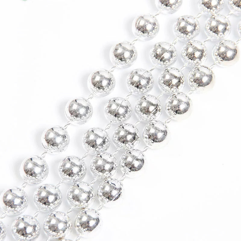 SILVER PEARLY STRING WITH LARGE PEARLS