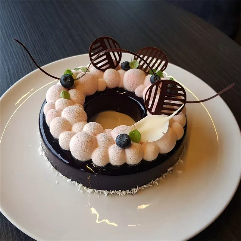 3D LARGE RING CLOUD CHOCOLATE MOUSSE MOULD