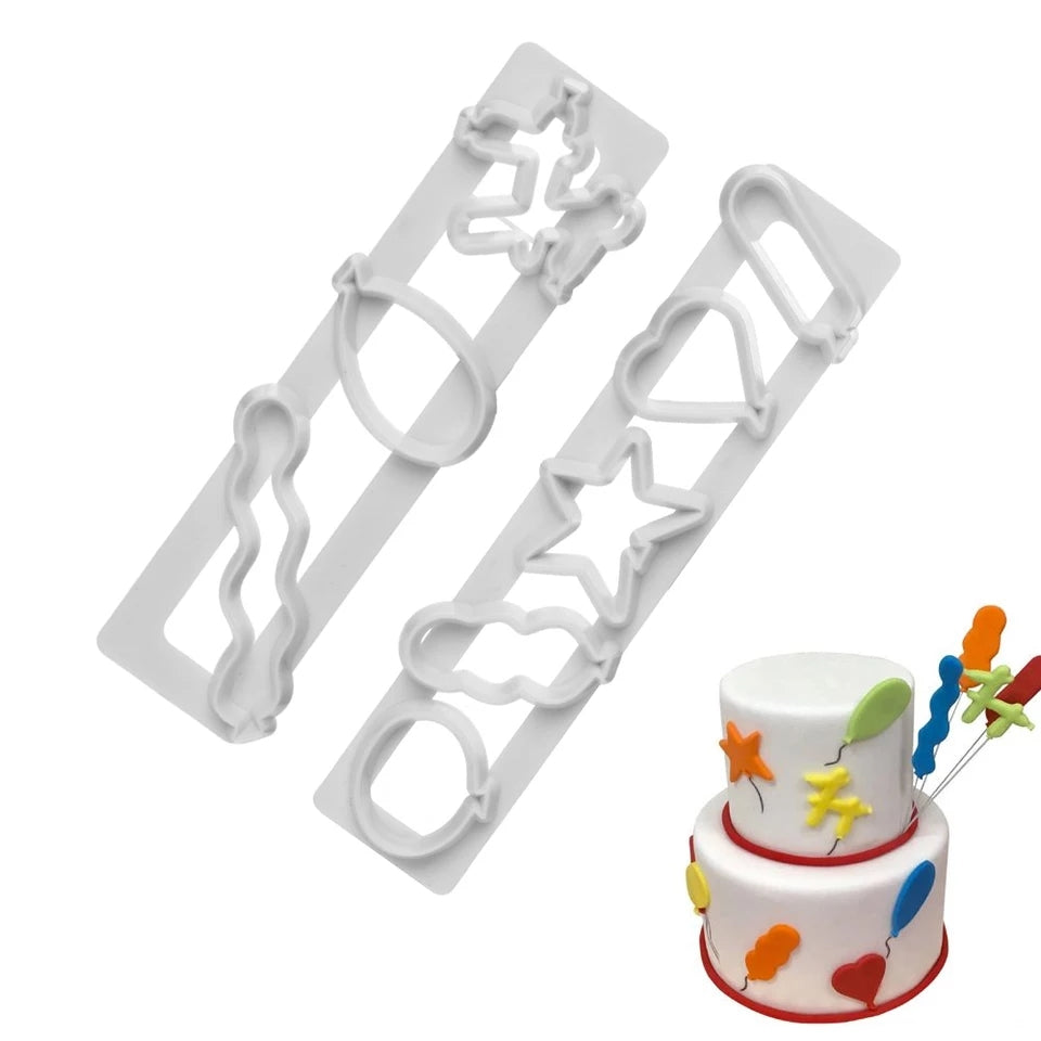 MINI BALLOON TAPPITS CUTTER SET 2PCS