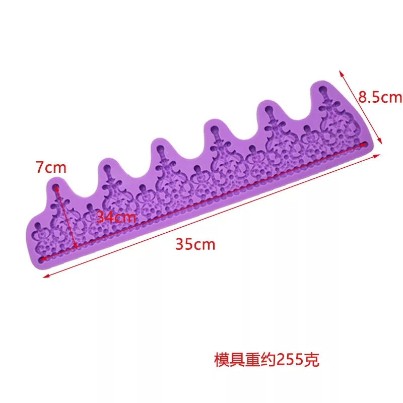 LONG BEDAZZLED MAJESTIC CROWN/TIARA MOULD