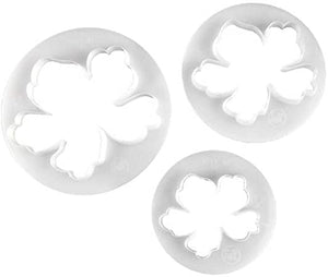HAWAIIAN FLOWER CUTTER PLASTIC 3 Pcs