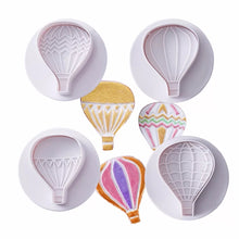 Load image into Gallery viewer, HOT AIR BALLOON CUTTERS SET 4 PCS