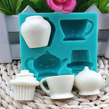 Load image into Gallery viewer, TEA SET MOULD 4 PCS