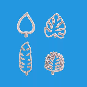 ASSORTED LEAVES CUTTER SET 4PCS