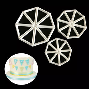 EASY BUNTING CUTTER SET 2 PCS