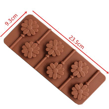 Load image into Gallery viewer, FLOWER CHOCOLATE LOLLIPOP MOULD