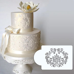 FILIGREE DAMASK STENCIL 1 PC
