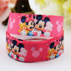 MINNIE MOUSE RIBBON RED (2.2 CM)