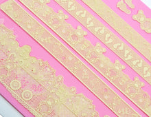 Load image into Gallery viewer, BABY SHOWER THEMED LACE MAT