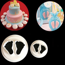 Load image into Gallery viewer, TINY BABY FEET CUTTER SET 2PCS