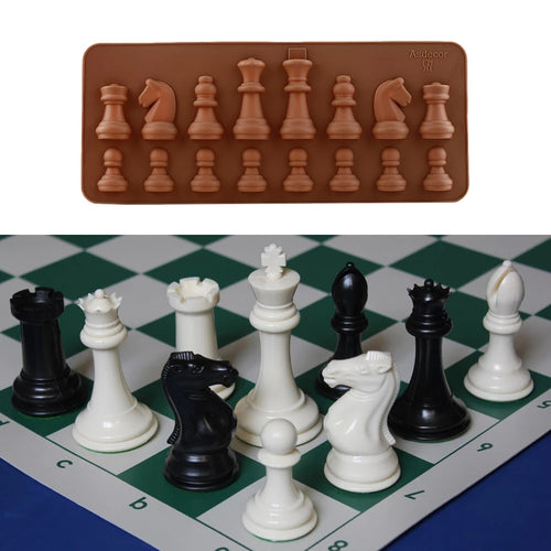 CHESS SILICONE CHOCOLATE MOULD