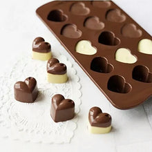 Load image into Gallery viewer, SHINY LOVE HEARTS CHOCOLATE MOULD